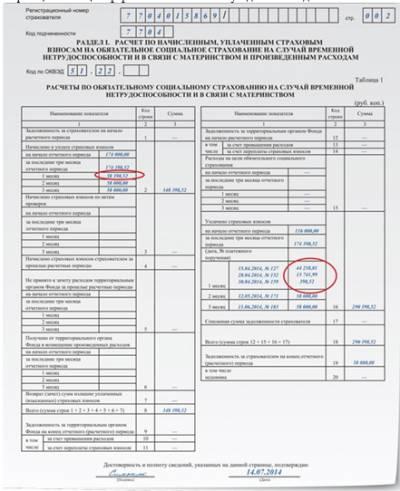 Заявление о перерасчете страховых выплат