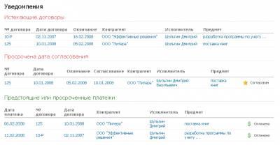 реестр для договоров образец