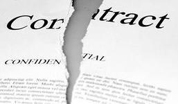акт о расторжении договора образец